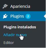 Añadir plugin nuevo