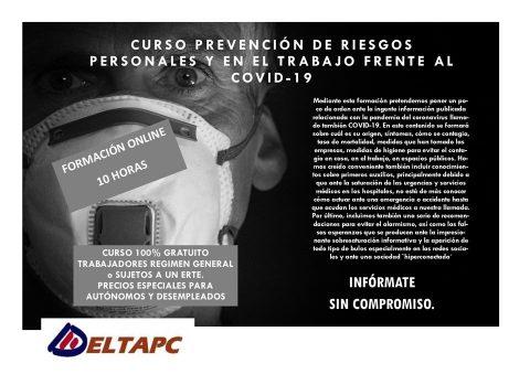 Prevención de Riesgos personales y laborales COVID-19